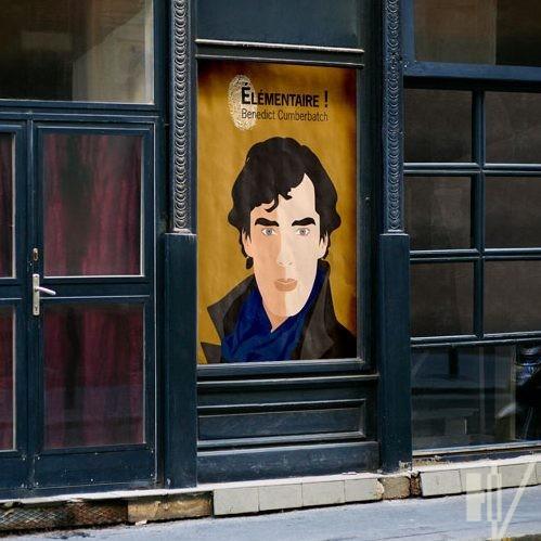 Portrait de Benedict Cumberbatch
